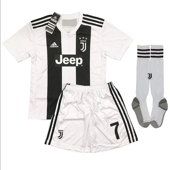quality design b4cf2 9a083 Cristiano Ronaldo #7 kids Jersey, Shorts, & socks. NWT